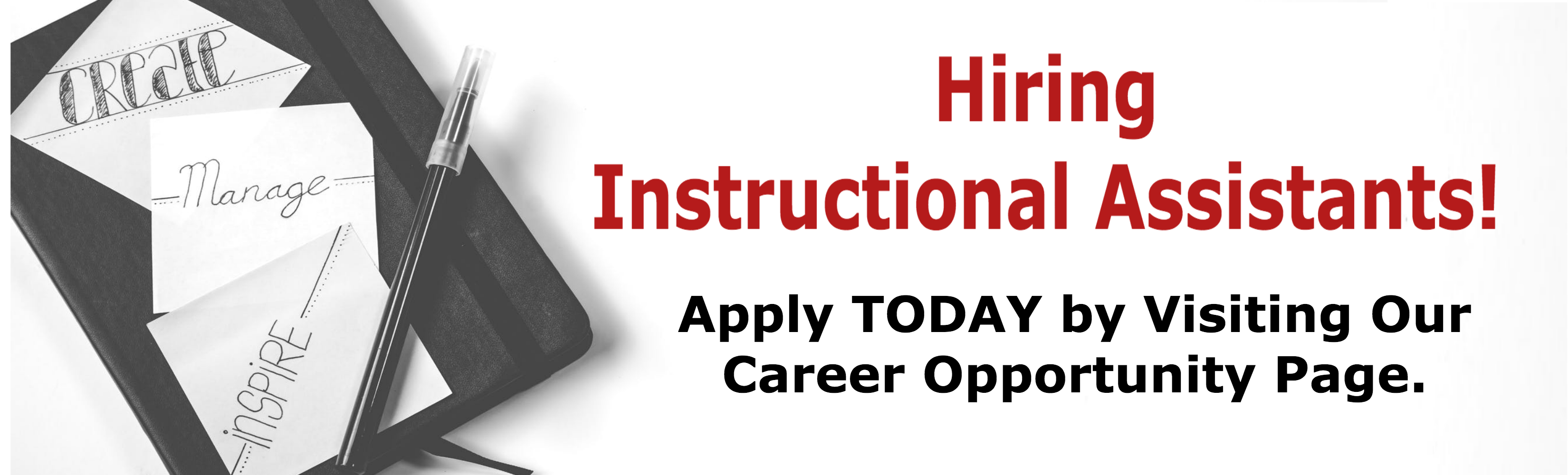 Hiring-Instructional-Assistants