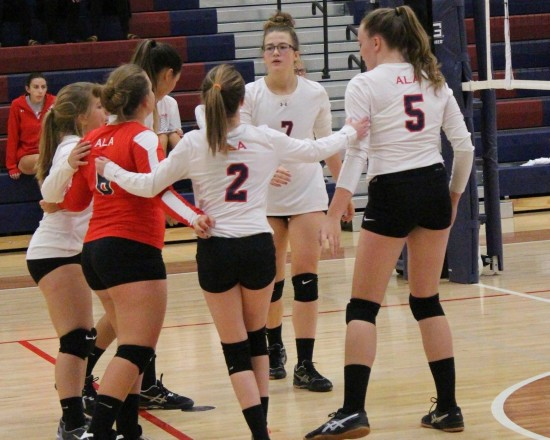Highlights of Volleyball win against Providence Hall