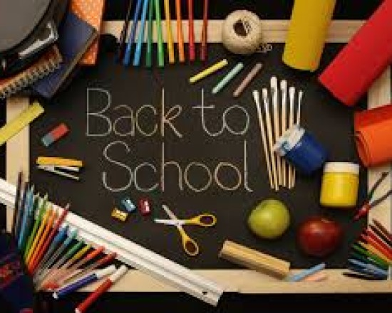 Elem. Check In Fair August 4th from 9 to 3