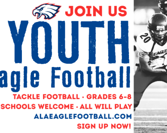 Sign up for Youth Eagle Football