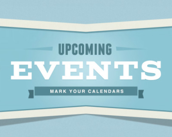 Upcoming Events for Sept. 25th-30th