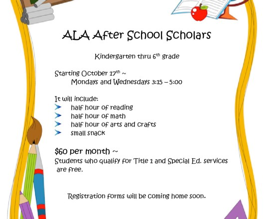 ALA After School Scholars Program