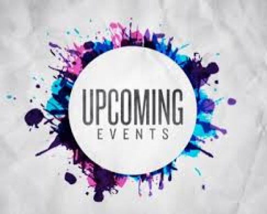 Upcoming Events for October 24th-29th
