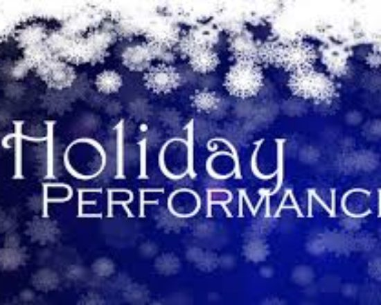 Elementary Fine Arts and Christmas Programs