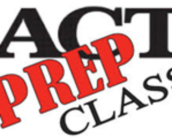 ACT Prep Class this Saturday