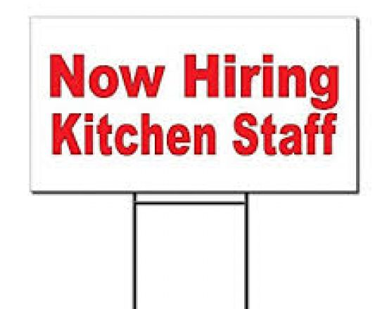 Hiring ALA Kitchen Staff