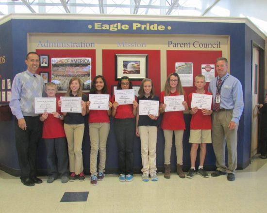 2017-18 Elementary Eagle Council