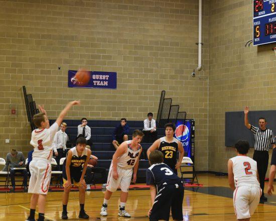 Boy's Freshman Basketball Take on Payson