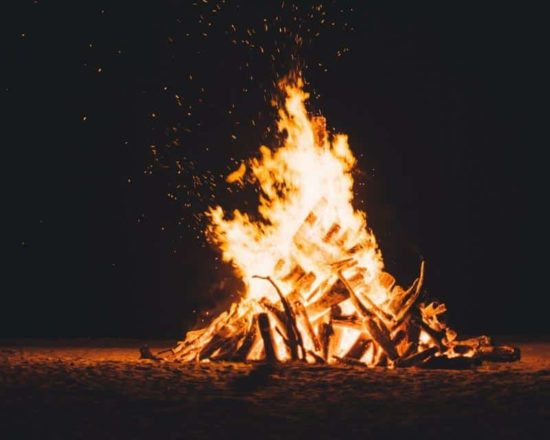 Bonfire for 9th-12th Graders on Wednesday, April 25th