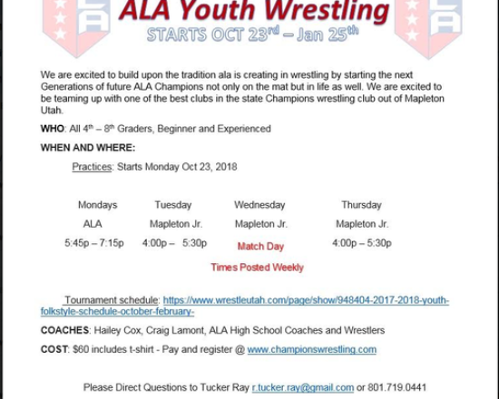 ALA Youth Wrestling