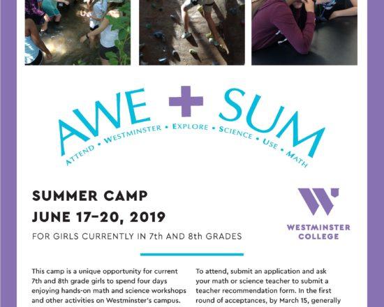 AWE+SUM Summer Camp