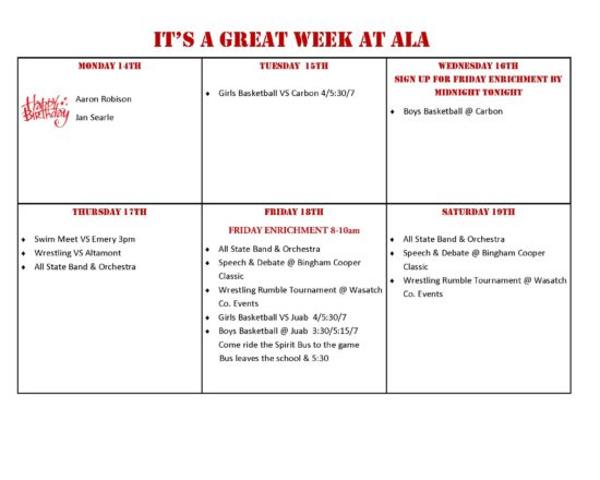 This Week at ALA