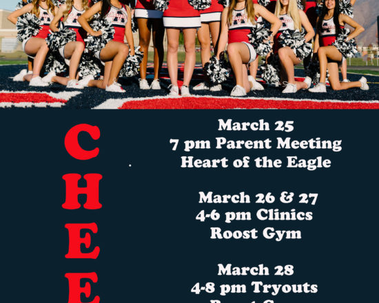 ALA Cheerleading Tryout Information