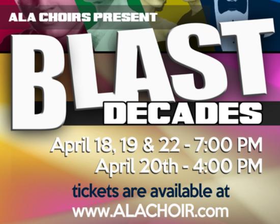 Don't Miss the ALA Blast Decades Performance