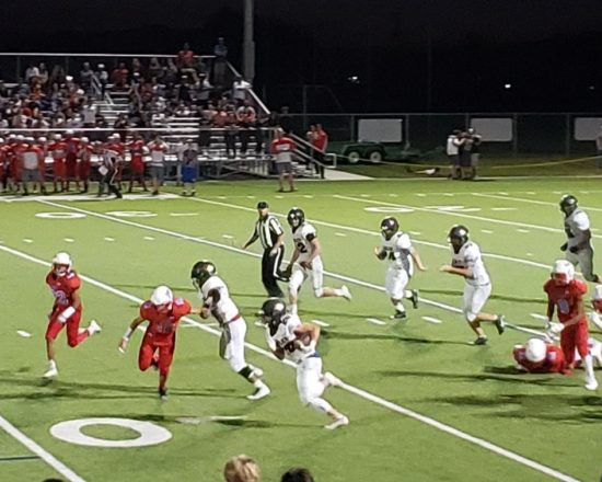 Eagle Football Wins Exciting Game Against Ben Lomond Friday Night