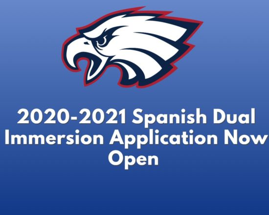 Spanish Dual Immersion Application Now Open for 2020-2021 school year