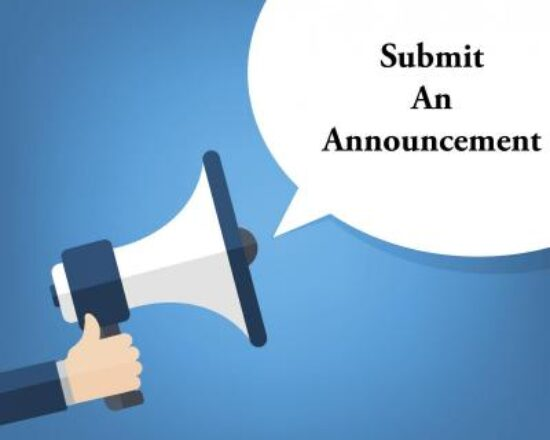 SUBMIT AN ANNOUNCEMENT FOR OUR ALA WEBSITE