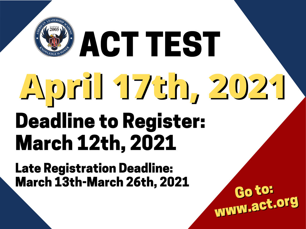 Register for the ACT Test