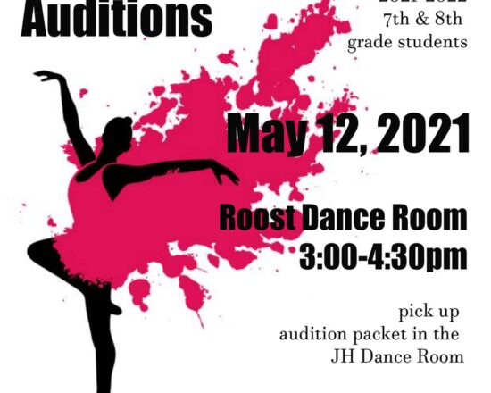 Jr. High Dance Company Auditions