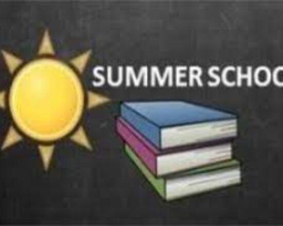 Secondary Summer School Sign up
