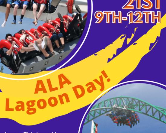 ALA LAGOON DAY ON MAY 21ST
