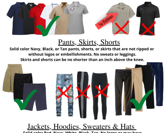 ALA DRESS CODE QUICK REFERENCE GUIDE