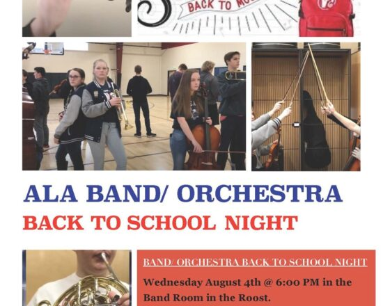 ALA Band & Orchestra Open House